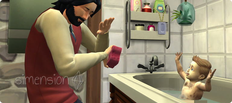 Kindersitter als Ansprechpartner für Die Sims 4 Kleinkinder