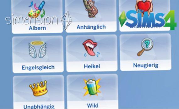 Die Sims 4 Kleinkinder-Merkmale