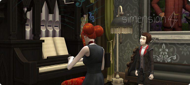 Die Sims 4 Fähigkeit Orgel