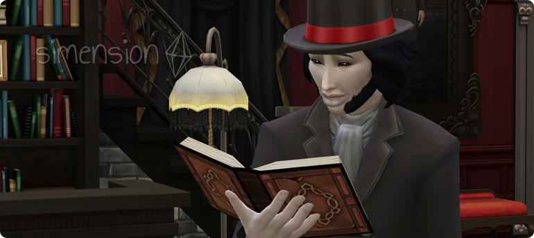 Die Sims 4 Fähigkeit Vampirsaga