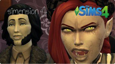 Die Sims 4 Kreatur Vampire