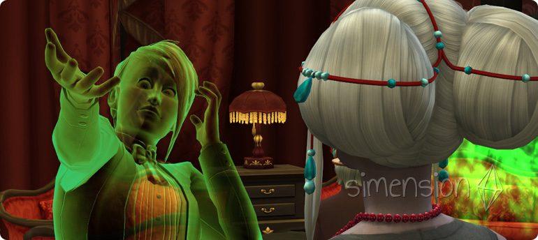 Tod durch Sonnenlicht für Vampire in Die Sims 4