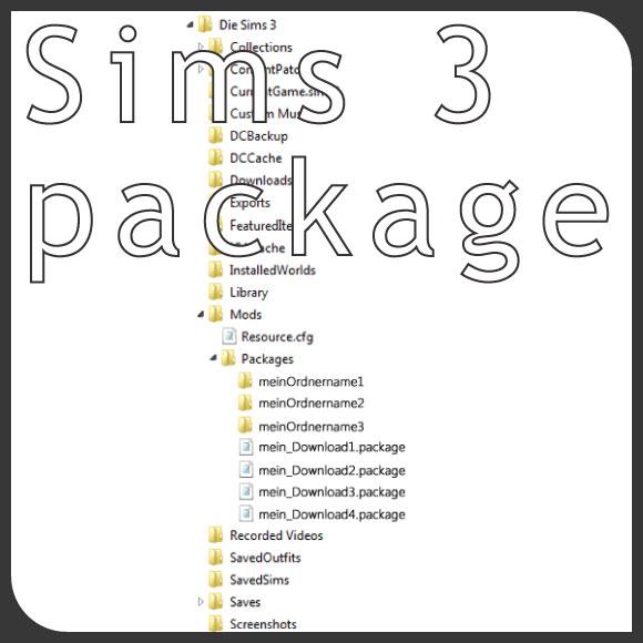 package-Dateien intallieren