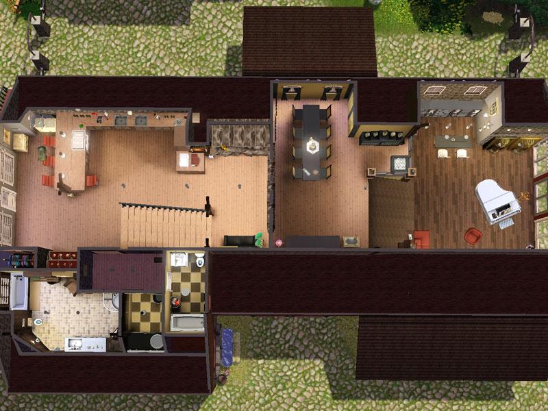 scheune ausbauen ideen thienemann offen und flur kche essbereich und wohnzimmer bilden zusammen. Black Bedroom Furniture Sets. Home Design Ideas