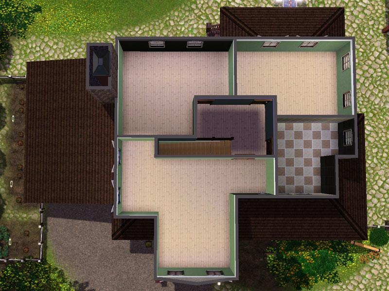 Egyptian styled loft in an haymow huge horse farm lot for Horse farm house plans