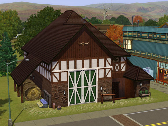 Sims  How To Build A Kennel