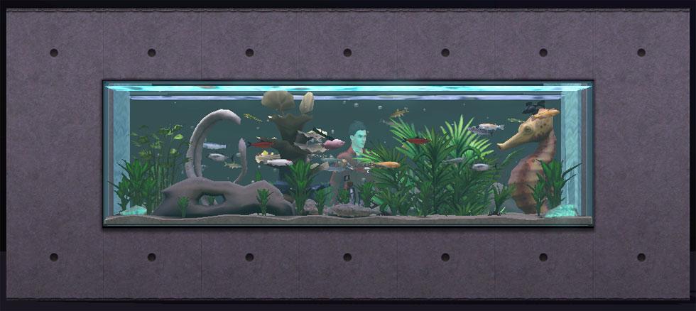 sims 3 fish tank