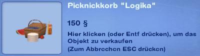 Picknickkorb Logika