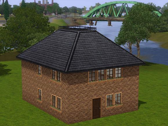 tutorial dachformen in sims 3 simension. Black Bedroom Furniture Sets. Home Design Ideas