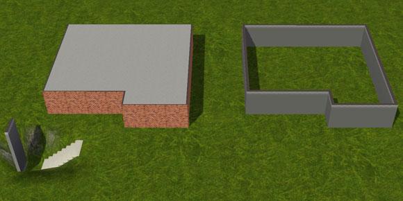 tutorial fundamente in ihrer h he ver ndern simension. Black Bedroom Furniture Sets. Home Design Ideas