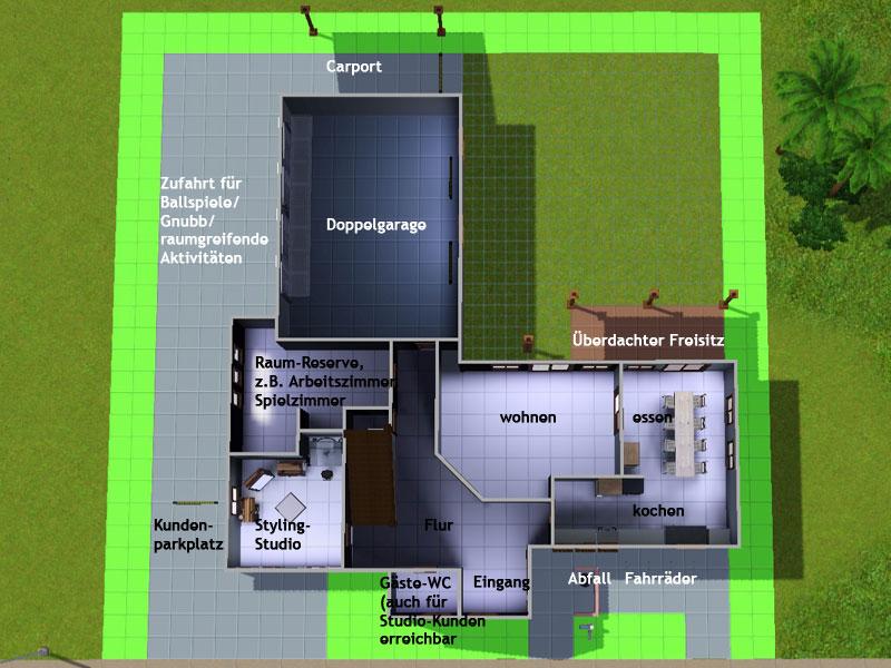 Sims 3 häuser ideen grundrisse  Häuserbau Anfänger - Sim Forum