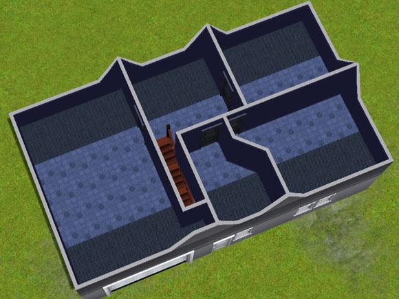 Grundrissgestaltung der Dachetage