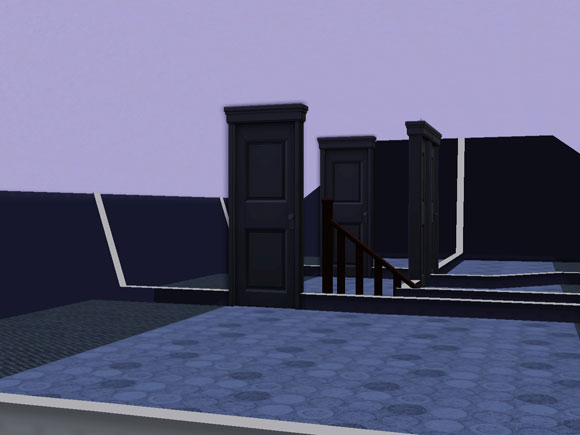 korrekt angezeigte Dachschrägen