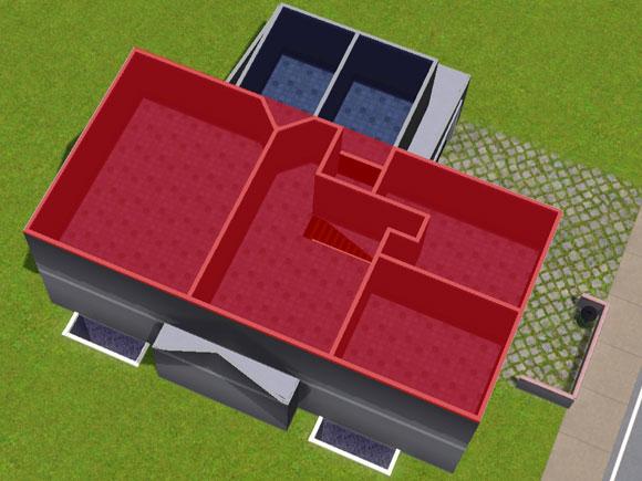 Bereich der Dachschrägen