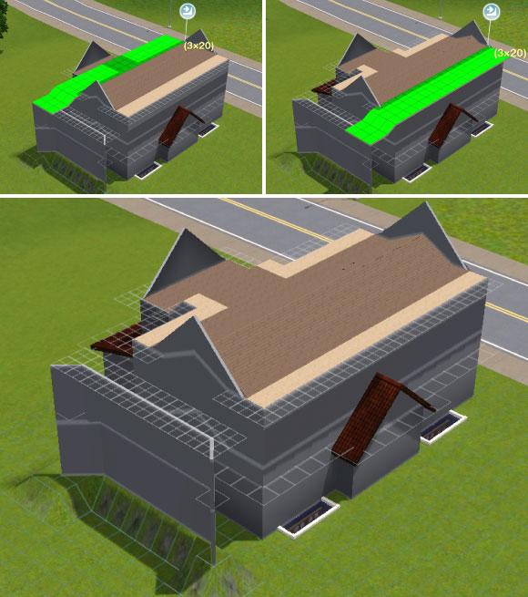 Konstruktion der Dachschrägen - Teil 2