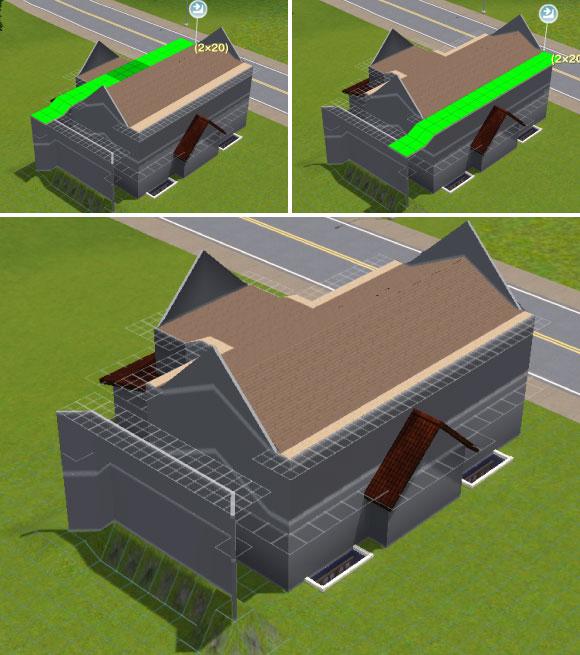 Konstruktion der Dachschrägen - Teil 3