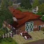 Sims 3 Gulfhaus - side view   Seitenansicht 2