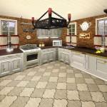 Sims 3 Gulfhaus - kitchen   Küche