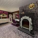 Sims 3 Gulfhaus - master bedroom   Elternschlafzimmer