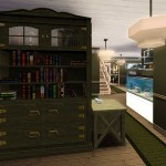Sims 3 Gulfhaus - hall   Flur