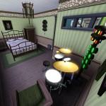 Sims 3 Gulfhaus - guest room   Gästezimmer