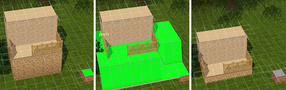 Constrain Floor Elevation True : Gelände tools im sims bau modus simension