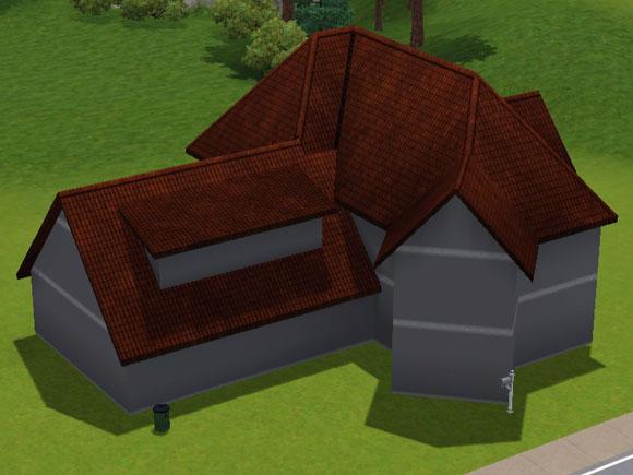 Sims 3 Rohbau für die Unterkellerung